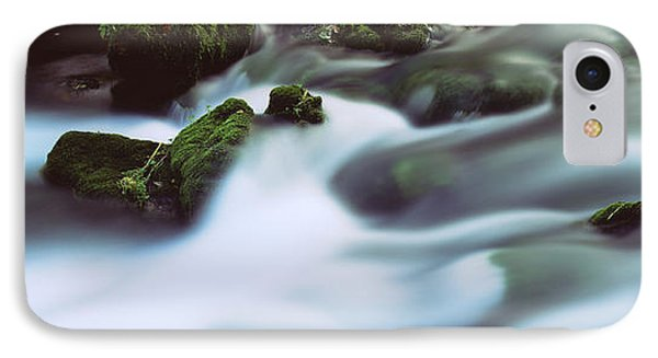 Stream Flowing Through Rocks, Alley IPhone Case by Panoramic Images