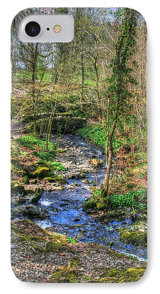 IPhone Case featuring the photograph Stream In Wales by Doc Braham