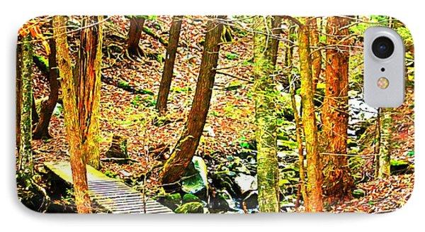 Stream On Appalachian Trail IPhone Case