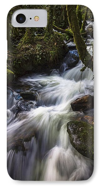 IPhone Case featuring the photograph Stream On Eume River Galicia Spain by Pablo Avanzini