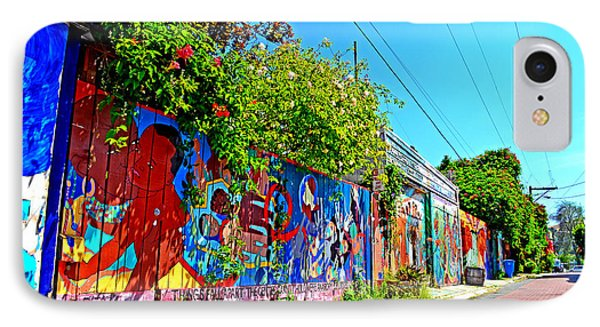 Street Art In The Mission District Of San Francisco IIi Phone Case by Jim Fitzpatrick