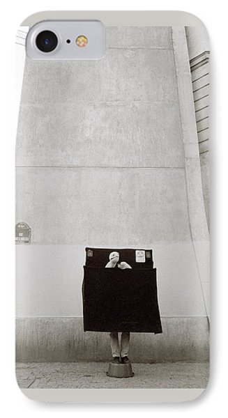 Paris Surrealism IPhone Case by Shaun Higson