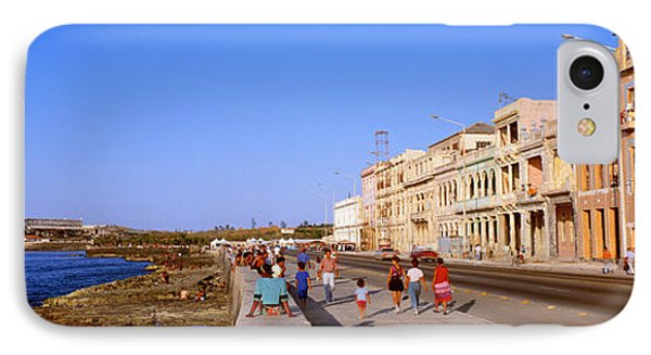 Street, Buildings, Old Havana, Cuba IPhone Case by Panoramic Images