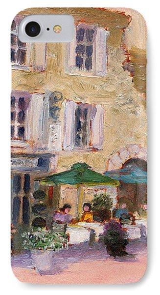 Street Cafe IPhone Case by J Reifsnyder