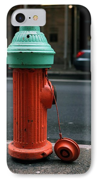 IPhone Case featuring the photograph Street Hydrant by Dorin Adrian Berbier