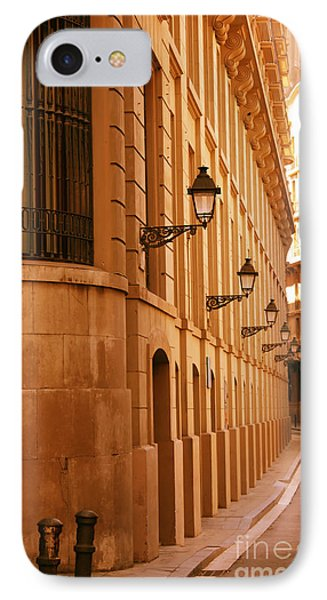 Street In Barcelona Phone Case by Sophie Vigneault