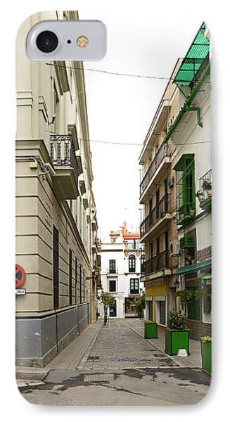Street In Cadiz Spain IPhone Case