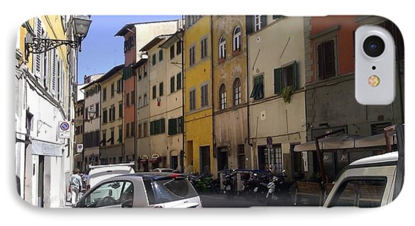Street In Florence IPhone Case by Ted Williams