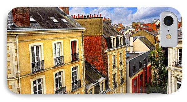 Street In Rennes Phone Case by Elena Elisseeva