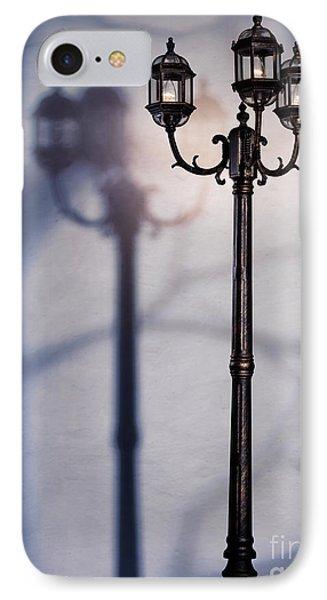 Street Lamp At Night Phone Case by Oleksiy Maksymenko