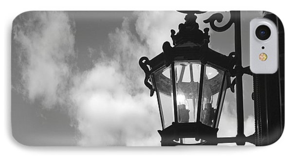 Street Lamp Phone Case by Tony Cordoza