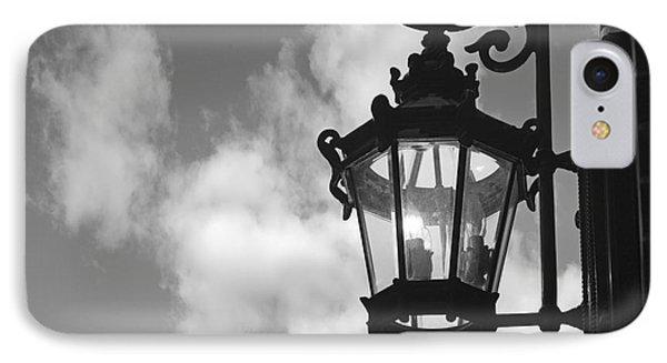 Street Lamp IPhone Case by Tony Cordoza