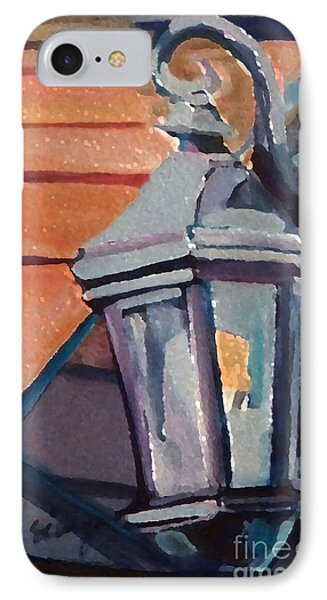 Street Lantern IPhone Case by Ecinja Art Works