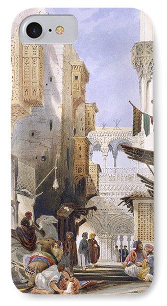 Street Leading To El Azhar, Grand IPhone Case