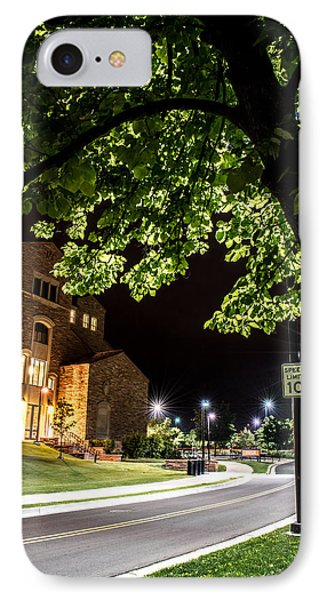 Street Lights In Slow Ville IPhone Case by Rhys Arithson