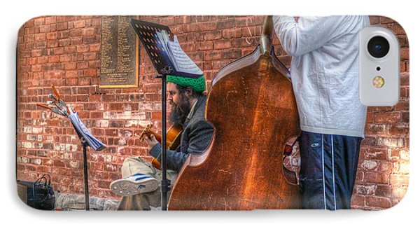 Street Musicians - Great Barrington - No. 2 Phone Case by Geoffrey Coelho