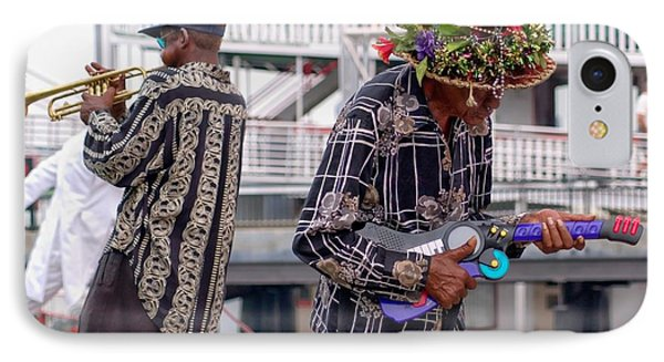 Street Musicians New Orleans IPhone Case