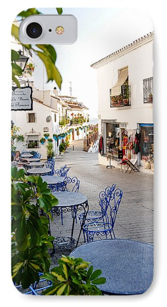 Street Of Mijas IPhone Case