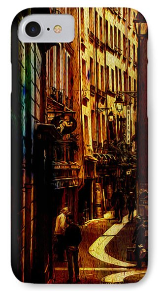 Street Of Paris IPhone Case