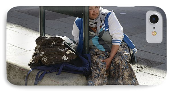 Street People - A Touch Of Humanity 10 IPhone Case by Teo SITCHET-KANDA