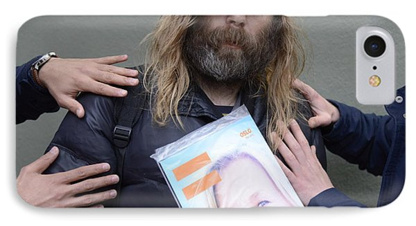 Street People - A Touch Of Humanity 12 IPhone Case by Teo SITCHET-KANDA