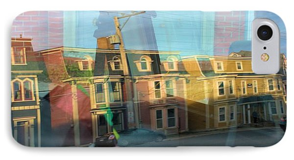 IPhone Case featuring the photograph Street Reflection by Douglas Pike