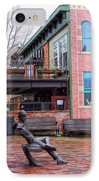 Street Scene Phone Case by Donna Blackhall