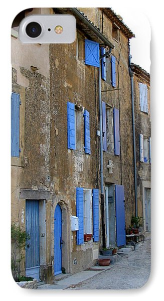 Street Scene In Provence Phone Case by Carla Parris
