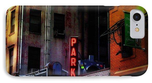 Graffiti And Grand Old Buildings IPhone Case by Miriam Danar