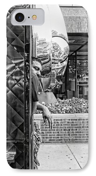 IPhone Case featuring the photograph Street Vendor by Hugh Smith