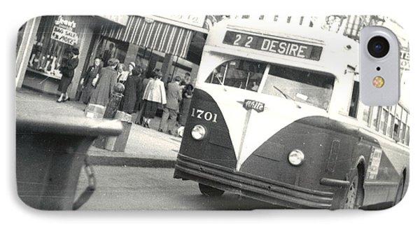 Streetcar Named Desire Phone Case by Cynthia Decker