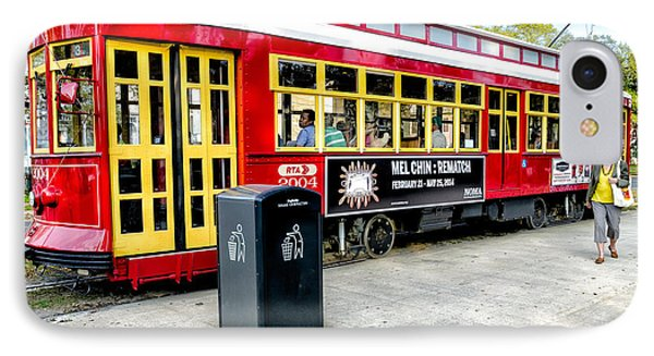 Streetcar On Canal Street Nola Phone Case by Kathleen K Parker