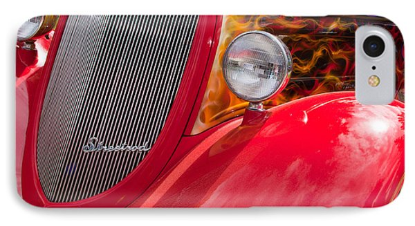 Streetrod Red IPhone Case by Mick Flynn