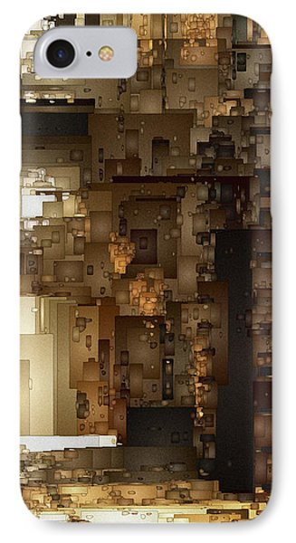 Streets Of Gold IPhone Case by David Hansen