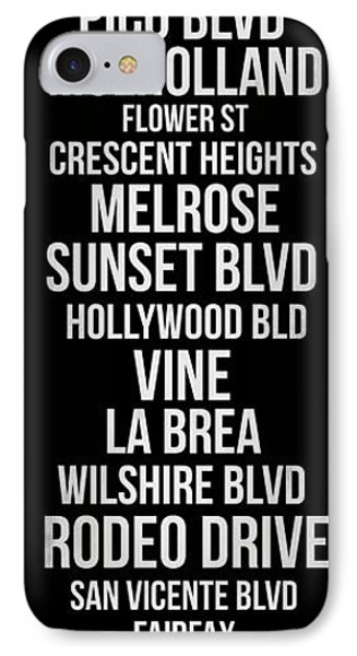 Streets Of Los Angeles 2 IPhone Case