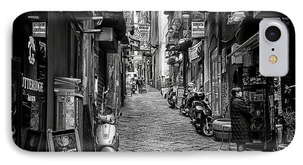 Streets Of Naples IPhone Case