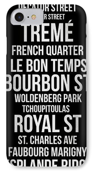 Streets Of New Orleans 2 IPhone Case