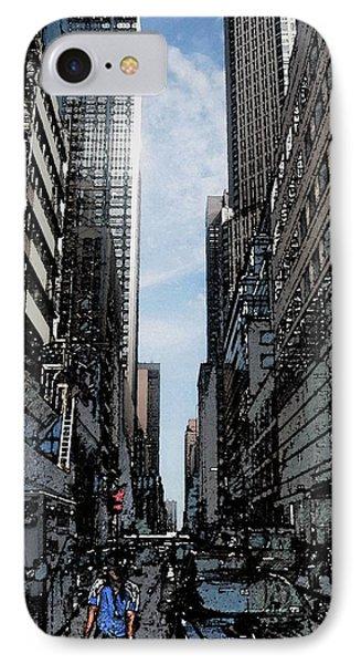 Streets Of New York City Phone Case by Mario Perez