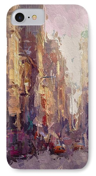 Streets Of New York IPhone Case by Steve K