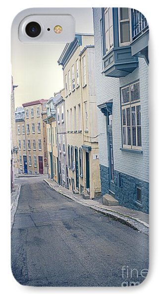 Streets Of Old Quebec City Phone Case by Edward Fielding