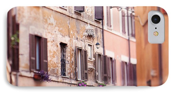 Streets Of Rome IPhone Case by Kim Fearheiley