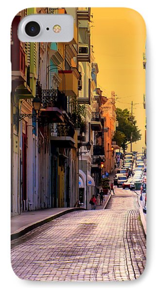Streets Of San Juan Phone Case by Karen Wiles