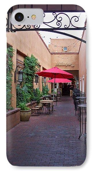 Streets Of Santa Fe IPhone Case by Sylvia Thornton