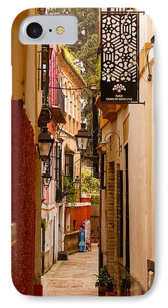 Streets Of Seville  IPhone Case by Andrea Mazzocchetti