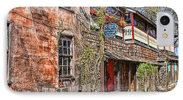 IPhone Case featuring the photograph Streets Of St Augustine Florida by Olga Hamilton