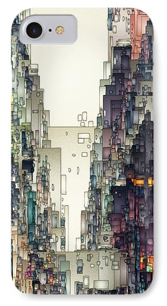 Streetscape 1 Phone Case by David Hansen