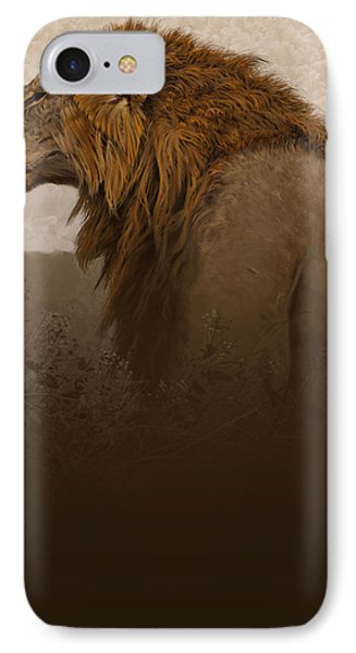 Lion iPhone 7 Case - Strength by Aaron Blaise