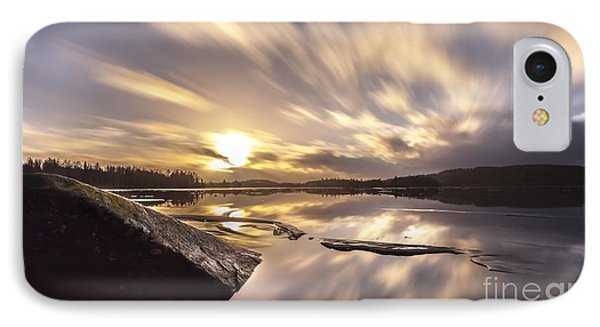 IPhone Case featuring the photograph Strength In The Storm by Rose-Maries Pictures