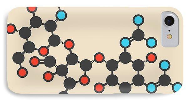 Streptomycin Antibiotic Molecule IPhone Case by Molekuul