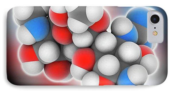 Streptomycin Drug Molecule IPhone Case by Laguna Design